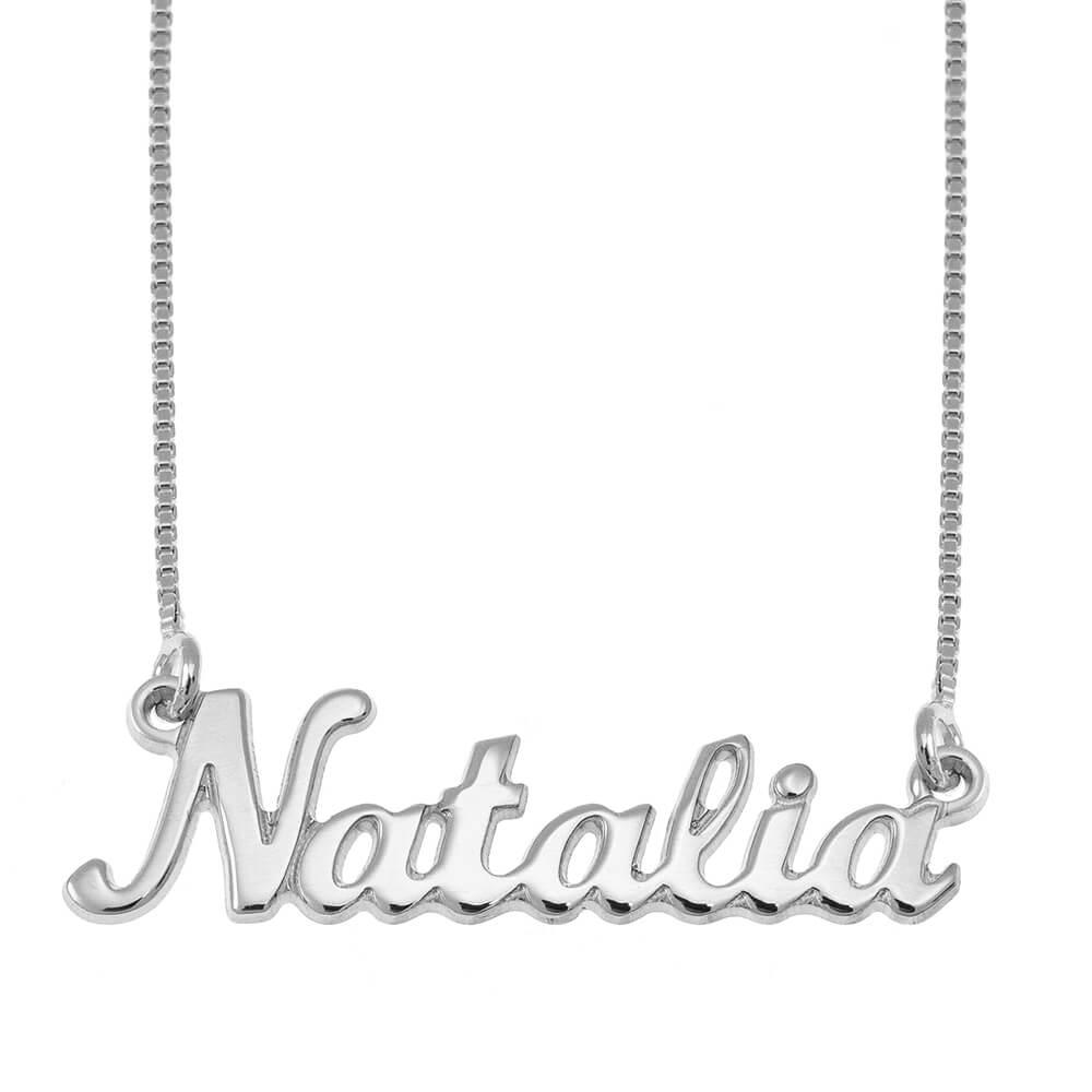 Classic Nome Collana silver