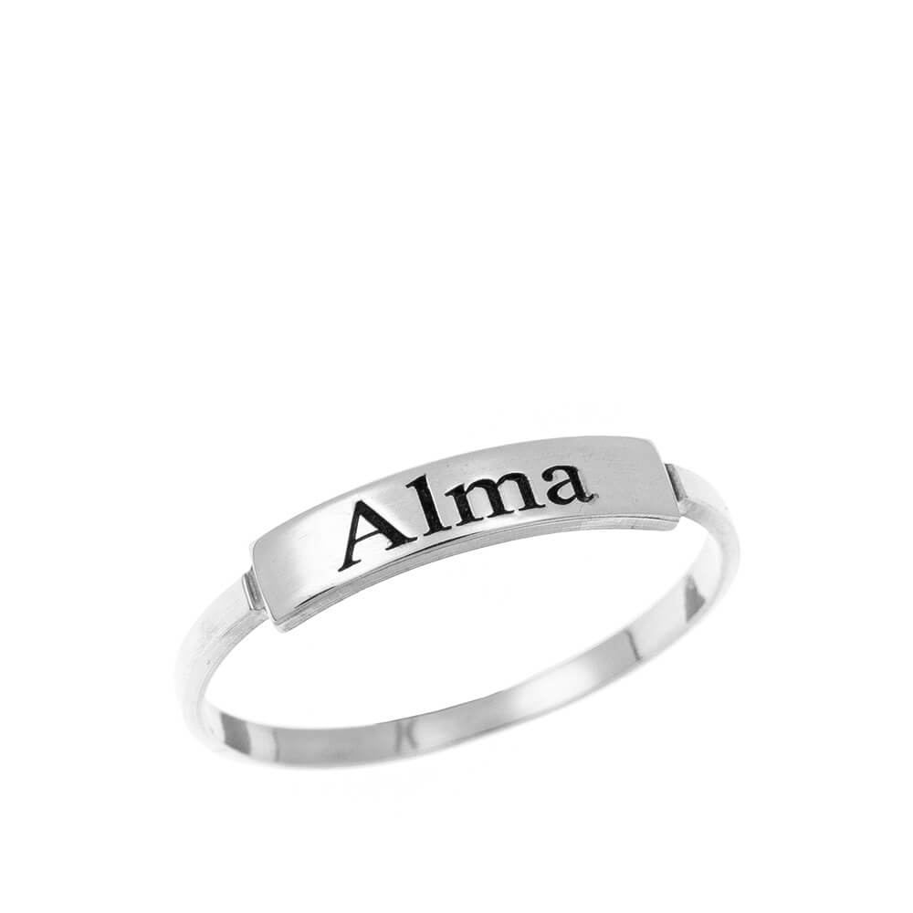 Stackable Nome Ring silver