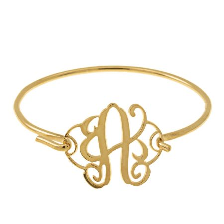 Braccialetto Bangle a Monogramma