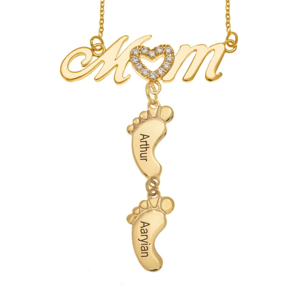 Swarovski-Inlay-Mom-Necklace-With-Baby-Feet-gold